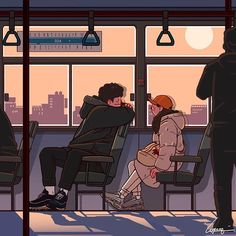 Shared by آيةة. Find images and videos about love, art and illustration on We Heart It - the app to get lost in what you love. Cute Couple Drawings, Cute Couple Art, Cute Drawings, Japon Illustration, Love Illustration, Cartoon Kunst, Cartoon Art, Aesthetic Anime, Aesthetic Art