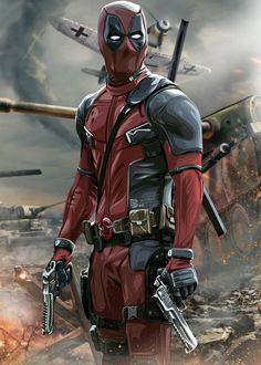 Marvel Deadpool Movie, Deadpool Art, Avengers Cartoon, Marvel Art, Marvel Heroes, Marvel Phone Wallpaper, Deadpool Wallpaper, Marvel Comic Character, Marvel Characters
