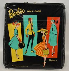 Barbie Doll Case by Mattel 1961. Loved this case.....