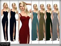 Midnight for Red Carpet.  Found in TSR Category 'Sims 4 Female Formal'