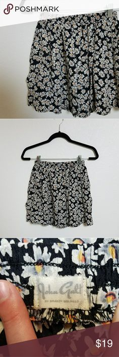 John Galt by Brandy Melville Daisy Skirt Length 15.5 inches  Elastic Waist 11.5 inches Brandy Melville Skirts Mini