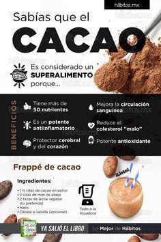 Hábitos Health Coaching | Sabías que el cacao es considerado un SUPERALIMENTO PORQUE…