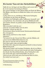 Ein bunter Tanz mit den Blättern * Elkes Kindergeschichten Elke Bräunling, Bunt, Storytelling, Children, German, German Language, Languages, Fall Crafts, I Am Happy