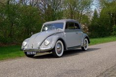 Hendrik Jan Hofman, from Rijssen, Twente, the Netherlands. His 1955 Delphine Grey Two-Tone finish VW Convertible, L320 & L321, imported from California in 2015, and restored all by himself over…