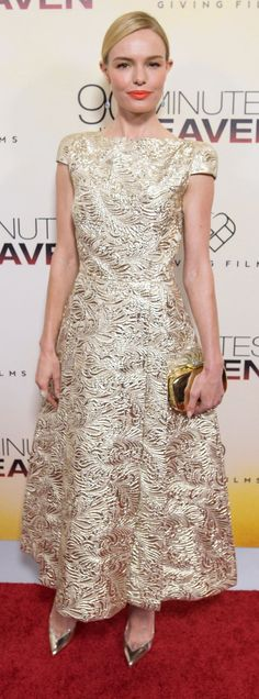 Pin for Later: Kate Bosworth's Red-Carpet Style Is Golden —and This Dress Is Proof