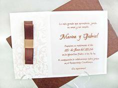 Invitaciones de boda cardnovel www.voydebodas.com