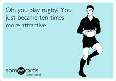 Oh you play rugby? You just became ten times more attractive. -Under The Sticks Womens Rugby, Rugby Men, Rugby Sport, Rugby League, Rugby Players, Rugby Rules, Rugby Funny, Beach Volley, Rugby Girls