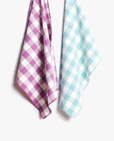 Image of the product WASHED COTTON CHECK KITCHEN TOWEL (PACK OF 2)