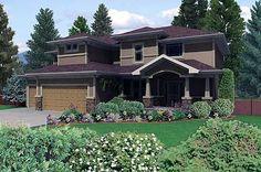 Plan W16034PN: Northwest House Plans & Home Designs