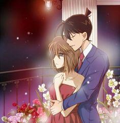 --Haibara and Shinichi--