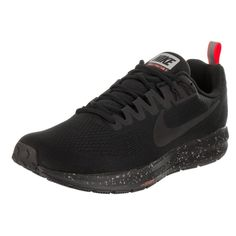 14a8f9a2f8 Nike Men's Air Zoom Structure 21 Shield Running Shoe Nike Zoom, All Black  Sneakers,