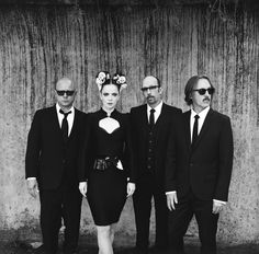 Garbage's new look...