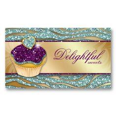 42 best biz card images on pinterest business cards carte de 311 bakery business card zebra cupcake sparkle tea reheart Gallery