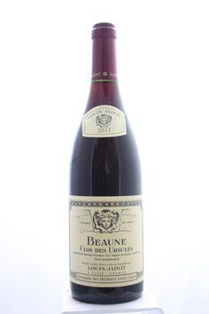 Louis Jadot (Domaine Des Héritiers Louis Jadot) Beaune Clos Des Ursules 2011. France, Burgundy, Beaune, Premier Cru. 4 Bottles á 0,75l. Estimate (11/2016): 150 USD (37,50 USD (913 CZK) / Bottle).