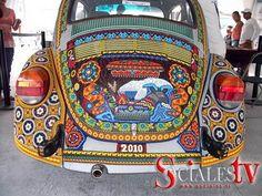 beaded VW bug!