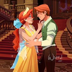 *ANASTASIA & DIMITRI ~ Once upon a december I wish you in advance a merry Christmas with magical moments with your loved ones. Disney Anastasia, Dimitri Anastasia, Anastasia Movie, Anastasia Broadway, Anastasia Romanov, Anastasia Cartoon, Arte Disney, Disney Magic, Disney Art