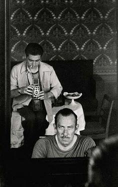 John Steinbeck and Robert Kappa