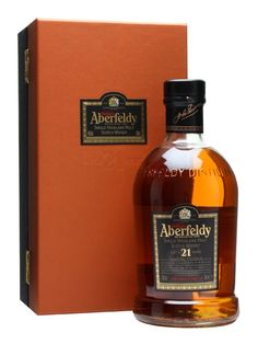 Aberfeldy 21 Year Old Scotch
