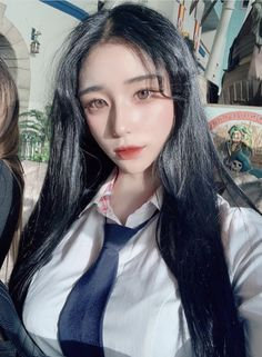 School Looks, Septum Ring, Korea, Schoolgirl, Japan, Fashion, Moda, Fashion Styles, Fashion Illustrations