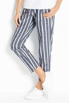 Womens Pants & Trousers Online in Australia - EziBuy AU Travel Wardrobe, Tailored Trousers, Striped Pants, Pants For Women, Pajama Pants, Women Wear, Tropical, Australia, Leggings