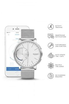Reloj Skagen Connected SKT1100 - Reloj Malla Milanesa Smartwatch para Hombre - Skagen Denmark