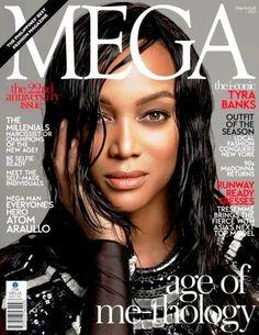 Tyra Banks  Mega Magazine Cover [Philippines] (February 2014)  Highlight…