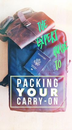 Travel Hacks & Tips Make plane travel easier with this carry-on packing list, plus the things you can't take on a plane, the airline carry-on rules you should know, and more! Travel Tips. Carry On Packing, Vacation Packing, Packing List For Travel, Packing Tips, Vacation Deals, Travel Deals, Travel Guides, Travel Destinations, Carry On Rules