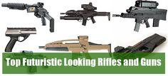 Futuristic Looking Rifles and Guns