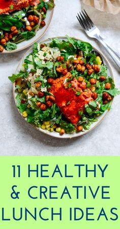 11 easy & delicious lunch ideas | #ambassador