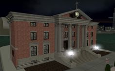 clock tower from back to the future - Google Search