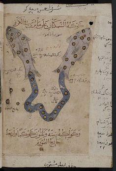 Manuscript-Astrology Manuscript (Pisces), Kitab-al- Bulhan, 14th century