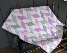 Check out this item in my Etsy shop https://www.etsy.com/listing/483690179/handmade-baby-girl-quilt-baby-quilt