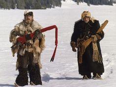 Charlton Heston and Brian Keith in The Mountain Men