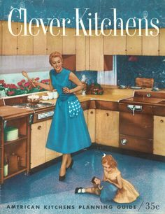 Clever Kitchens, 1957 Brochure Cover