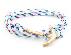 Brisbane white and blue anchor bracelet.  This model from the ''Australian Waves'' collection is inspired by Australian ports and beaches. This anchor is an escape symbol: As the boats sailing wherever they want, you will be free to lay your anchor wherever you want, anywhere in the world.  Available in several colors, the ''Australian Waves'' collection adapts to your style while adding a chic and elegant touch. #LEOMAZZOTTI #Bracelet #Giftidea #Jewelry #Anchor Jewelry Gifts, Jewellery, Brisbane, Your Style, Beaches, Anchor, Boats, Sailing, Elegant