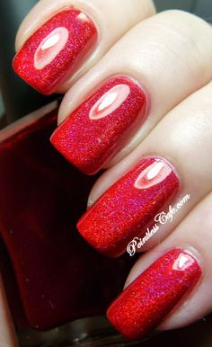 **Colors by Llarowe - Little Red Corvette / PointlessCafe *Cherry Red Holo Jelly! ZOMG!*