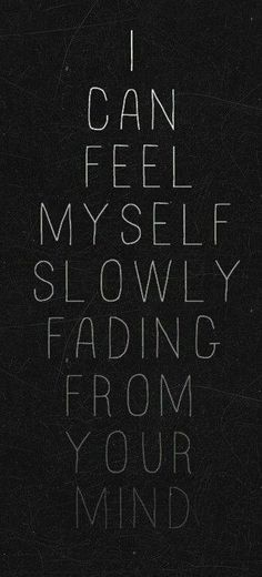 I can feel it tooo...
