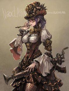 Neoclassic: Steampunk Ajumma