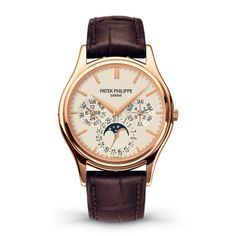 Patek Philippe Grand Complications Perpetual Calendar Mens watch, model number - discount price of from The Watch Source Tag Heuer, Patek Philippe Gold, Patek Philippe Aquanaut, Patek Philippe Calatrava, Patek Phillippe, Perpetual Calendar, Luxury Watches For Men, Cool Watches, Men's Watches