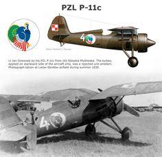 PZL P-11c podstawowy myśliwiec polski w kampanii wrześniowej