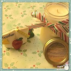 Candles make great teacher gifts! All 100% soy! Visit www.simply-celeste.com for more info or to place an order!!!