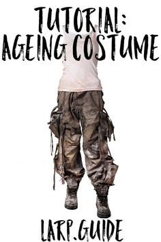 Costume ideas 462744930443398960 - Distressing Costume for Post-Apocalyptic LARP Source by achimaera