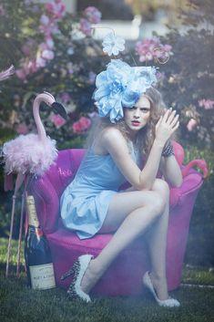 Modern fairytale / Alice in Wonderland / karen cox.  ...Alice by EmilySoto