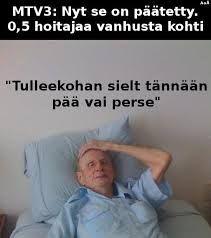 Hoitajakiintiö: 0,5 hoitajaa / vanhus