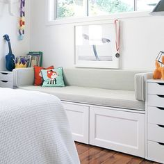 Cushioned Reading Nook from Ish and Chi