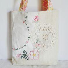 Roxy Creations: Re-purposing vintage linen
