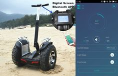 Segway Scooter App