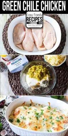 My family LOVED this recipe!!!! Low Carb - Keto Green Chile Chicken · Easy Family Recipes