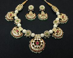 Panch Pankh jewellery set