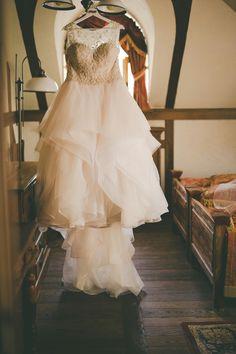 #wedding dress #Justin Alexander